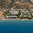Stock Photo: Resorts in Rhodes, Greece, aerial view