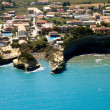 """Canal d'amour"" Sidari Corfu, aerial view — Stock Photo"