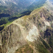 Aerial view of mountainous area — Stock Photo