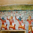 Ancient Egyptian wall painting - Stock Photo