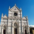 Basilica di Santa Croce, Florence, Italy — Stock Photo