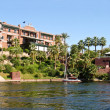 Stock Photo: 19th century hotel at Aswan, Egypt
