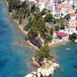 Aerial view of Skiathos, Greece — Foto Stock