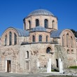 Byzantine church of Kosmosotira, Feres, Greece - Stock Photo