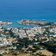 Kos town, Greece, aerial view — Stock Photo