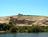 Pigeon house, Nile river, Egypt — Stock Photo