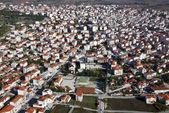 Ville de kilkis, grèce, antenne — Photo
