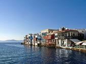 Little Venice, Mikonos, Greece — Stock Photo