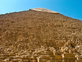 Khafre Pyramid, Giza, Egypt — Stock Photo