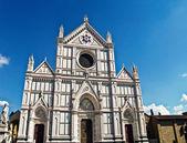 базилика санта-кроче, флоренция, италия — Стоковое фото