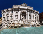 Fontana di trevi,罗马,意大利 — 图库照片