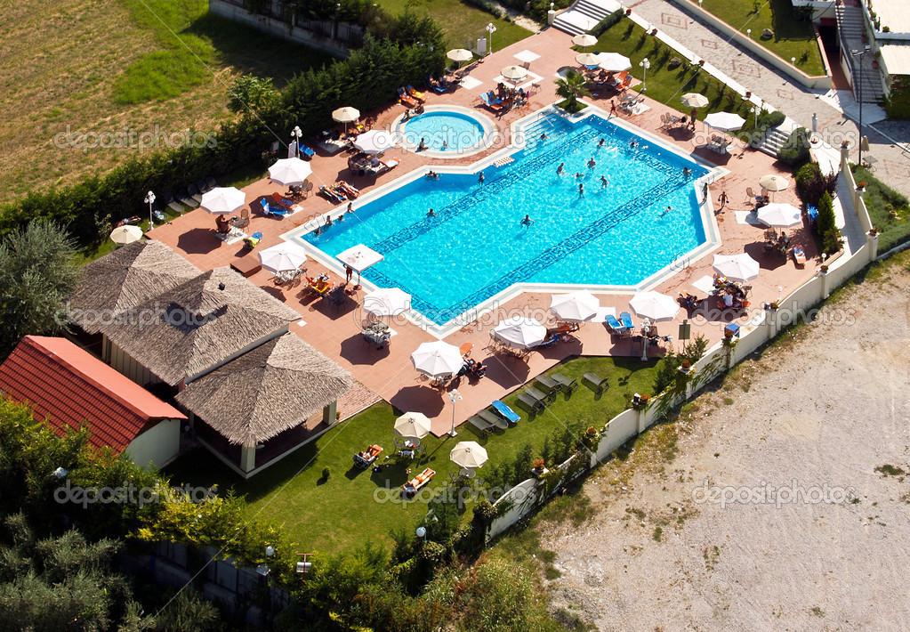游泳池, 鸟瞰图