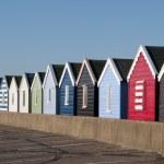 Beach Huts at Southwold — Stock Photo #25403677