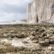 Stock Photo: White Cliffs, East Sussex