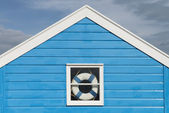 Beach Huts at Southwold — Stock Photo