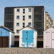 Colorful Beach Huts at Seaton — Stock Photo #25430043
