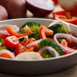 Cooking mixed vegetables — Stock Photo #24299843