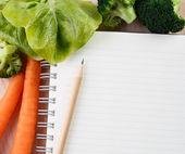 Writing a Recipe — Stock Photo