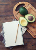 Avocado recipe — Stock Photo