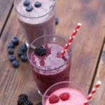 Fruit smoothies — Stock Photo #39542655
