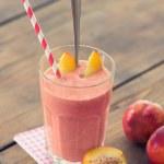 Peach Smoothie — Stock Photo
