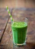 Green smoothie — Stock Photo