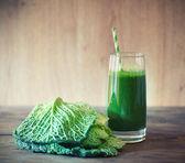 Kale smoothie — Stock Photo