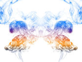 Abstract background of colored smoke — Stock Photo