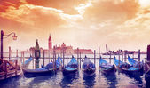 Sunny morning in Venice — Stock Photo