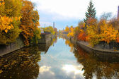 Bypass canal. Kronstadt, Russia — Stock Photo