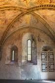 Wnętrze dawnej kaplicy. — Zdjęcie stockowe