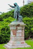 Statue of Cola Di Rienzo by Girolamo Masini, erected in 1877 nea — Foto de Stock