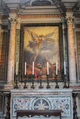The Basilica of St. Mary of the Altar of Heaven interior — Stock Photo