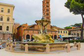 Fountain of Tritons in Rome, Italy — Stock Photo