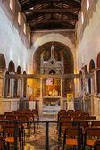 Interior of Santa Maria in Cosmedin in Rome, Italy — Stock Photo
