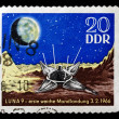 Postage stamp with image of Luna. — 图库照片 #24701267