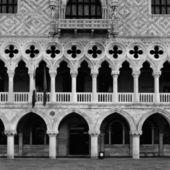 Italy. Venice Italy. Venice. Doge's palace early in the morning — Stock Photo
