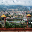 Stock Photo: Himalaya. Tibet. Capital of Bhutan. Thimphu.