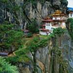 Himalaya, Tibet, Bhutan, Paro Taktsan, Taktsang Palphug Monaster — Stock Photo #27285987