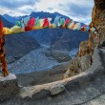 Himalaya. Tibet. Spiti Valley. Dhankar Gompa. — Stock Photo #27286033