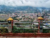 Himalaya. Tibet. Capital of Bhutan. Thimphu. — Stock Photo