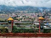 Himalaya. Tibet. Capital of Bhutan. Thimphu. — Stock Photo