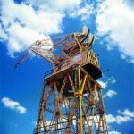 Harbour crane, Puerto Madero, Buenos Aires, Argentina — Stock Photo #30248459