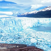 Perito Moreno Glacier, El Calafate, Los Glaciares National Park, — Stock Photo