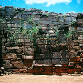 Jesuit mission ruins, San Ignacio Mini, Argentina — Stock Photo