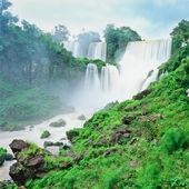 Iguazu waterfall, Porto Iguazu, Argentina — Stock Photo
