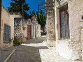 Traditional highland village. Crete. Greece — Stock Photo