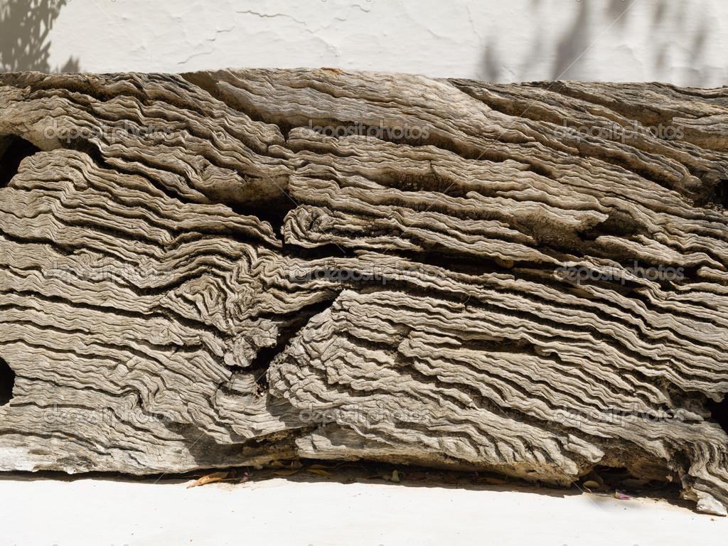 Antiguas vigas de madera verde oliva foto de stock - Vigas de roble antiguas ...
