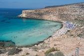 Lampedusa isola dei conigli — Photo