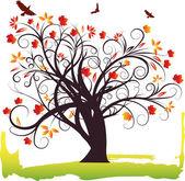 Tree vector file — Stock Vector